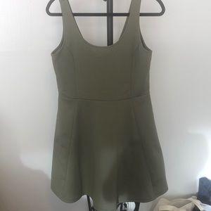 Olive green Dress H&M
